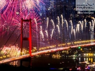 Istanbul New Year Party On The Bosphorus